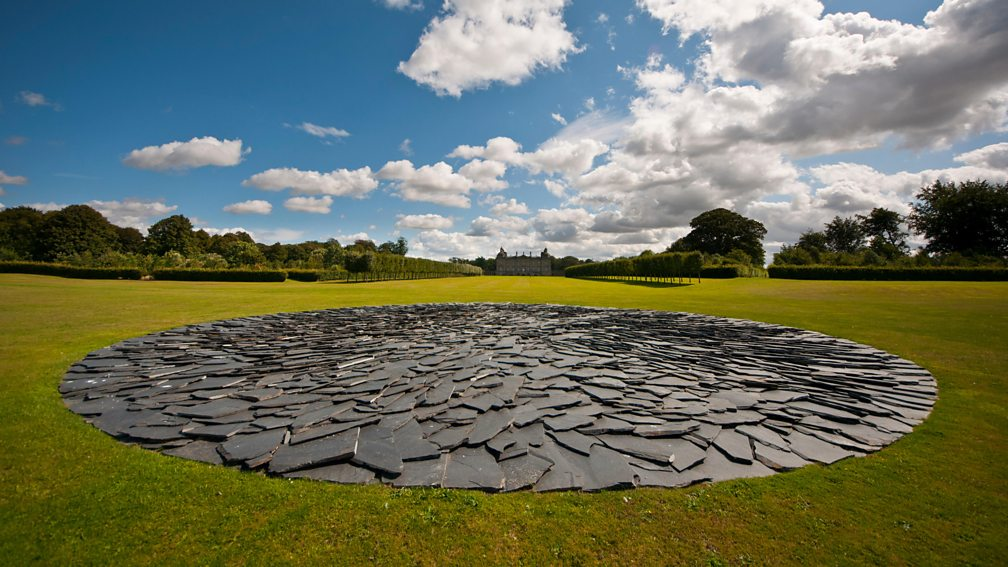 Richard Long Full moon